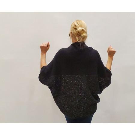 Кардиган Цвет черный  Состав 52% acrylic 20% nylon 15% viscose 10% wool 3% spandex