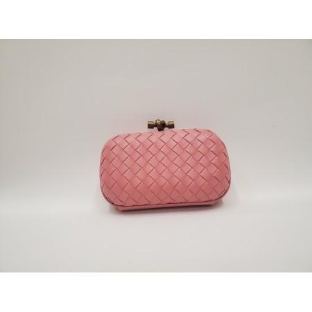 Клатч розовый маленький