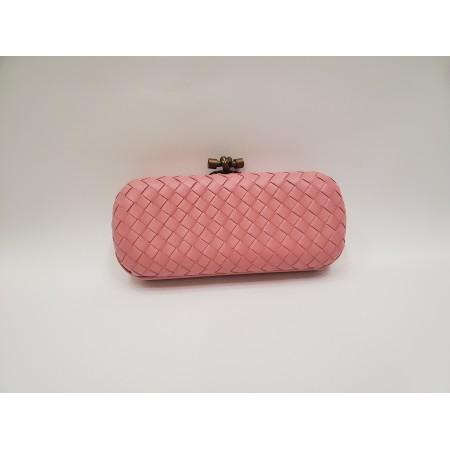 Клатч розовый большой