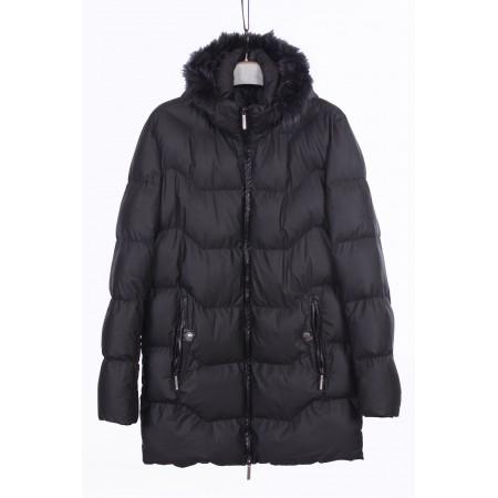 Куртка мужская  /внутренний материал холлофайбер/Цвет черный  Состав 100% cotton
