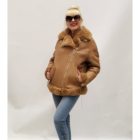 "Women""s fur coat"