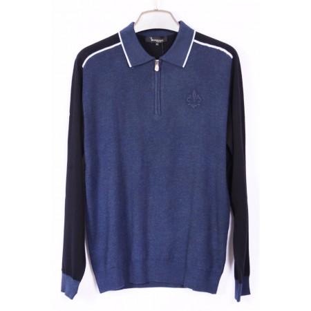 Джемпер  темно-синий   Состав 45% cashmere, 42% acrylic, 13% nano wire