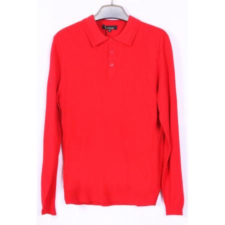джемпер  Цвет красный  Состав 33% wool 28% acrylic 39% nano wire
