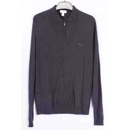 Джемпер  Цвет серый  Состав 21.6% cashmere 51.9% wool 26.5% acrylic