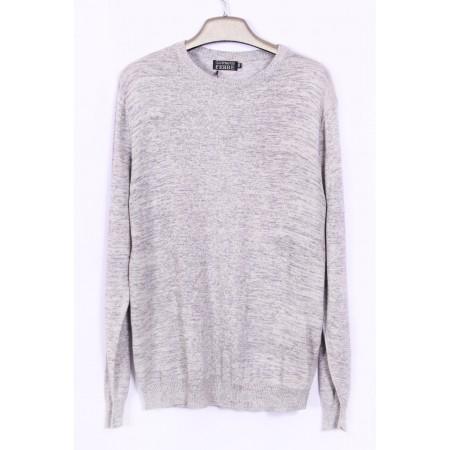 Джемпер  Цвет серый  Состав 35% silk 65% wool