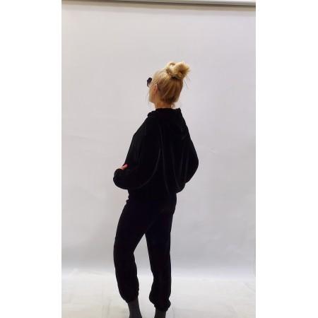 Костюм бархат Цвет черный, бархат  Состав 100% silk velvet