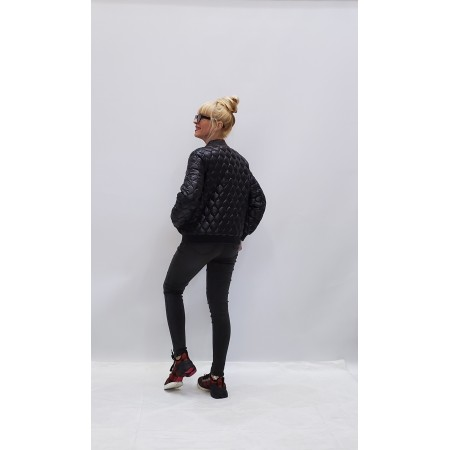 Куртка стеганая черная