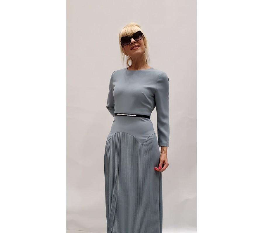 Dress blue bottom - pleated manufacturer Ukraine