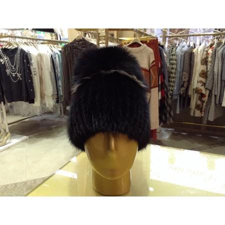 шапка норка чернобурка